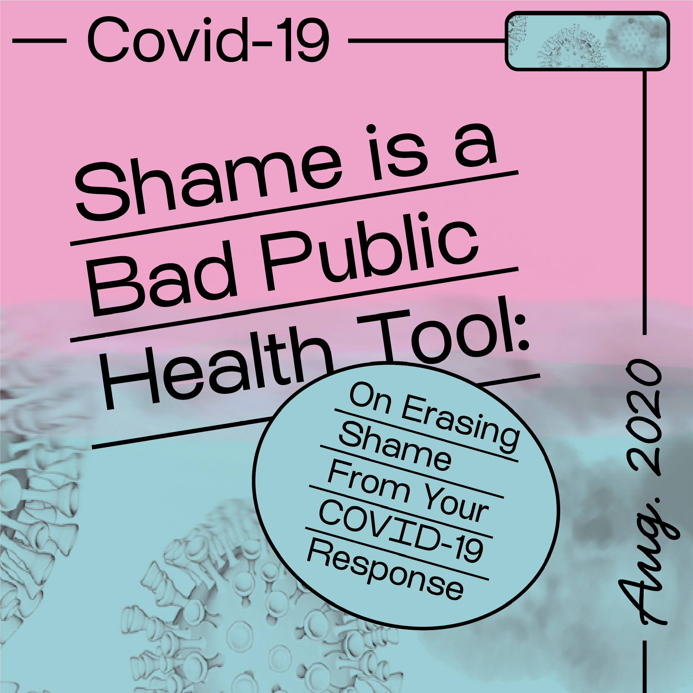 COVID-19 Action & Informative Design Series